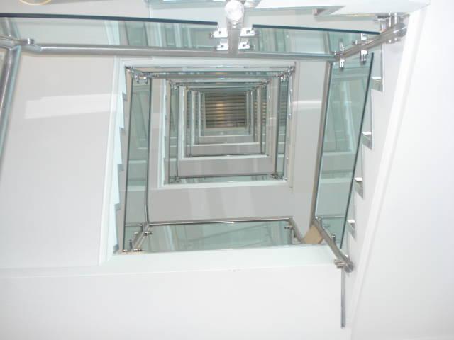 Hotel Stair Balustrade