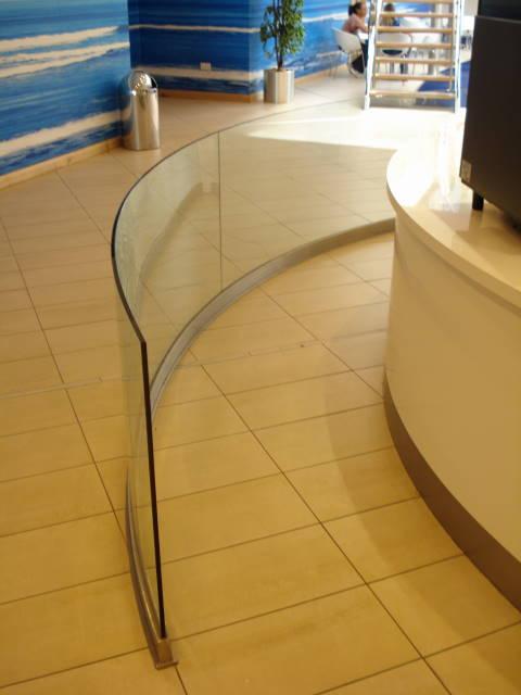 O2 glass screen