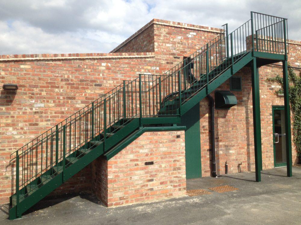 Thorpe Underwood - Staircase
